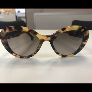 NIB Prada Sunglasses Tortoise, Cat Eye